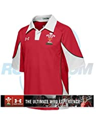Under Armour Wales Home Enfant Rugby Jersey