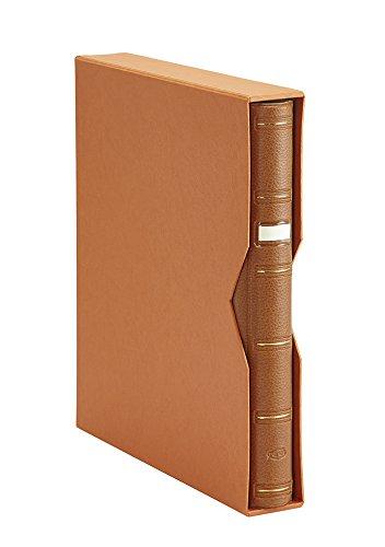 Pardo 100006 - Album sellos símil piel, color marrón