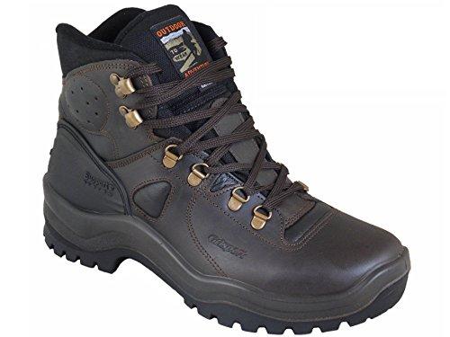 Grisport Peak Walker Leder Herren Wanderstiefel Braun EU 41 (Leder Walker Herren)