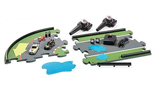 Siku 6810 - GT Challenge Autorennbahn mit 2 Autos und Zubehör Fahrzeuge, mehrfarbig (Gt Real)