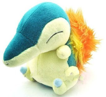 "Cute! 6.5"" Pokemon Cyndaquil Plush Toy Soft Doll Hinoarashi Nintendo Toy for Kids"