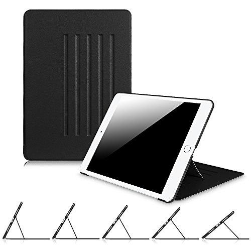 Fintie iPad Air 2 Hülle - [Multi-Sichtwinkel] Ultra Schlank Magnetische Kickstand Schutzhülle Abdeckung mit Auto Schlaf/Wach Funktion für Apple iPad Air 2 (2014 Modell), Schwarz (Ipad 2 64 Air Cellular)
