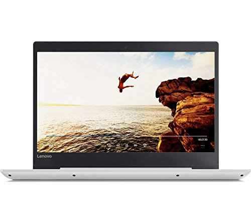 Lenovo IdeaPad 320S 14-Inch Laptop - (White) (Intel Core i3-7100U Processor, 4 GB RAM, 3 GB SSD, 128 GB HDD, Windows 10 Home)