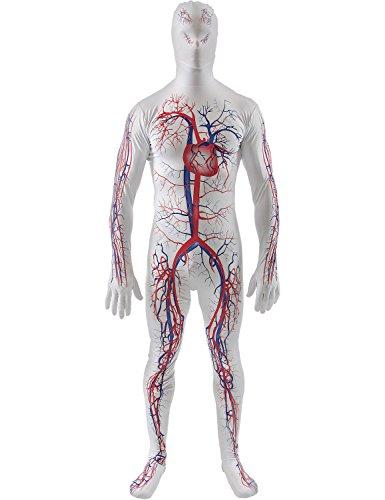 Artery Second Skin - Medium (Halloween Eine Budget Kostüme Auf)