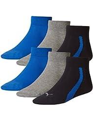 PUMA Unisex Winner Quarter Sport Socken Sportsocken 6er Pack