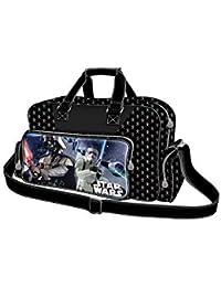 KRacterMania Star Wars Vader Bolsa de Viaje, 59 cm, 50 Litros, Negro