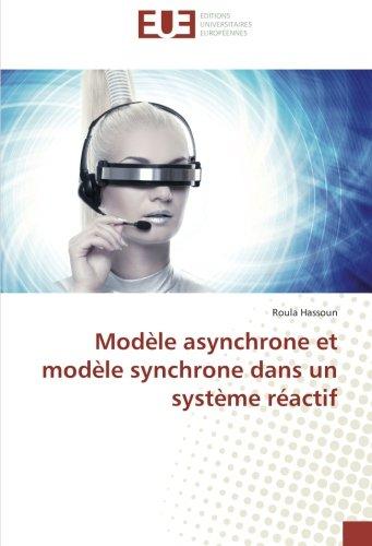 modele asynchrone et modele synchrone dans un systeme reactif par Roula HASSOUN