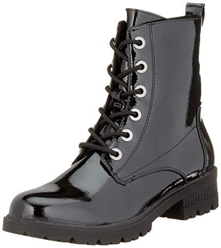 Tamaris Damen 1-1-25280-23 Combat Boots, Schwarz (Black Patent 18), 36 EU