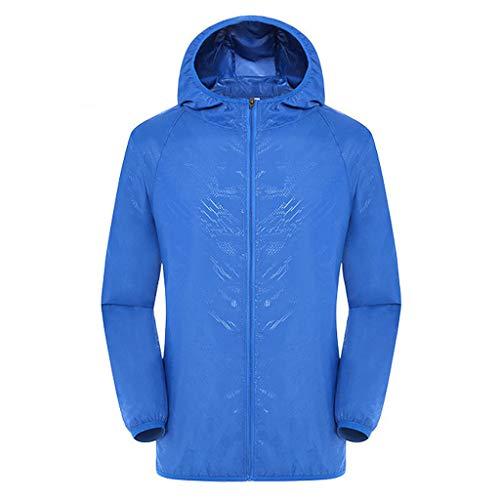 Mens T-Shirt Männer Frauen Casual Jacken Winddicht Ultraleicht Regenfest Windbreaker Top