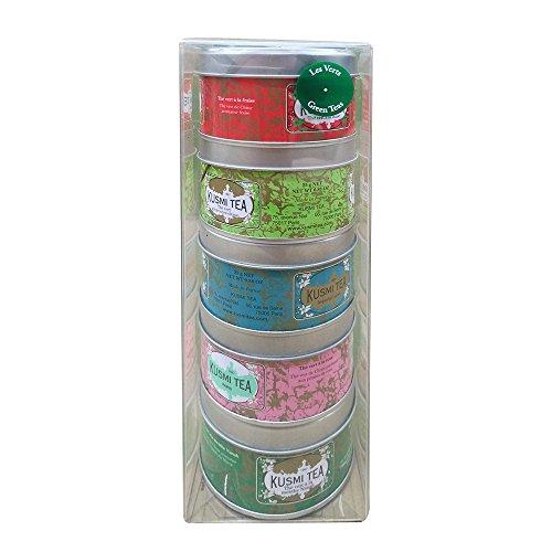 Kusmi Tea - Assortiment Miniatures - Les Verts
