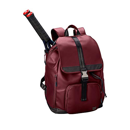 WILSON Damen Womens FOLD Over Backpack Tennis Bag, Purple, 2 Rackets -