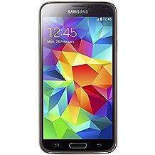 """Samsung Galaxy S5 - Smartphone libre Android (pantalla 5.1"""", cámara 16 Mp, 16 GB, Quad-Core 2.5 GHz, 2 GB RAM), dorado (importado de Alemania)"""