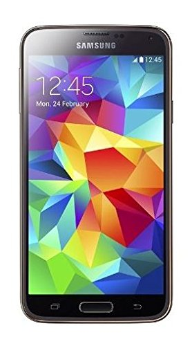 Samsung Galaxy S5 Smartphone (5,1 Zoll (12,9 cm) Touch-Display, 16 GB Speicher, Android 4.4) gold (Samsung Handys S5 Galaxy)