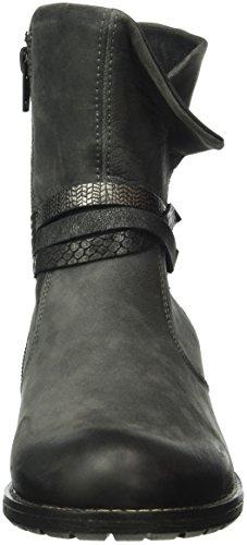 Remonte R3338, Bottes Motardes Femme Gris (Gris/Fumo/Graphit/Schwarz-Silber/Granit / 45)
