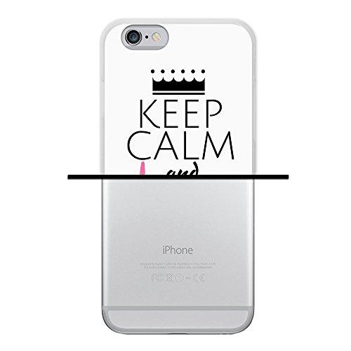 iPhone 6 6S Hülle, WoowCase Handyhülle Silikon für [ iPhone 6 6S ] Coloriertes Graffiti Handytasche Handy Cover Case Schutzhülle Flexible TPU - Schwarz Housse Gel iPhone 6 6S Transparent D0332