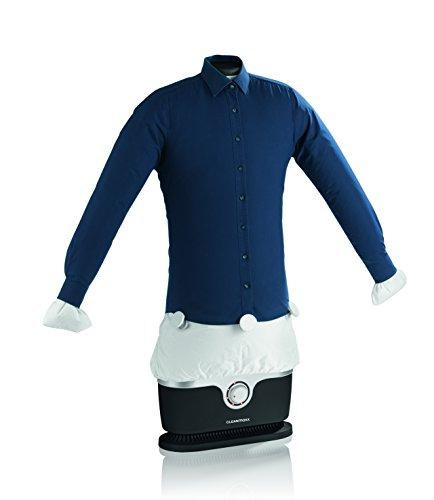 Automatischer Bügler 1800W für Hemden und Blusen, Bügelpuppe (Trocknet und bügelt) mit Tropfschutz, leise nur 75 db