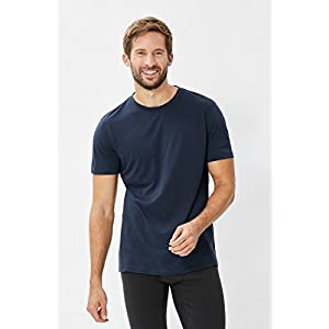 41s3Scn87NL. SS300  - super. natural M Base 175 Men's Merino T-Shirt, Men, SNM003874