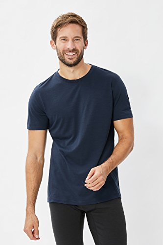 e50ca0ade2e7b Super. M Base Thé 175 Natural T-Shirt Fonctionnel pour Homme en Laine  mérinos