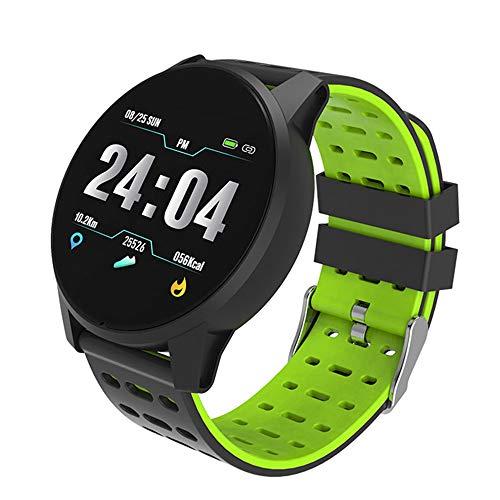GOHUOS Bluetooth Smartwatch Smart Watch Intelligente Armbanduhr Fitness Tracker Sport Uhr mit Herzfrequenz-Aktivität Schrittzähler Kalorierung Smart Armband für Frauen Männer
