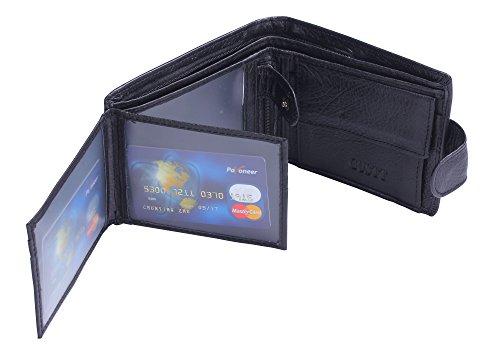 GUSTT Männer Royal RFID Blocking Leder Geldbörsen Bifold Wallet (G09) G19