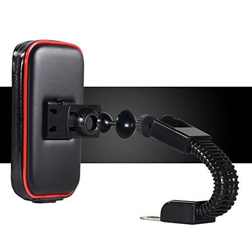 CAR SHUN Wasserdichte Tasche Bike Phone Mount Mobile Handyhalter Motorrad Fahrradhalterung Wasserdichte Abdeckung iPhone Handytasche Reiten Handy Halterung,Stents,L -