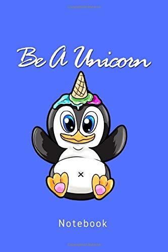 Be A Unicorn: süßer Pinguin Einhorn Eis
