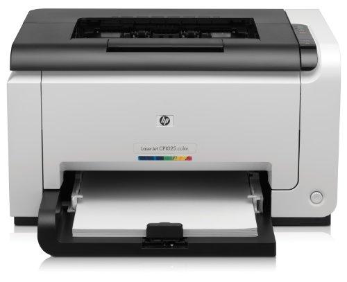 8 Mb Hp-drucker (HP Color LaserJet Pro CP1025 Farblaserdrucker (600x600 dpi, USB 2.0) weiß/schwarz)