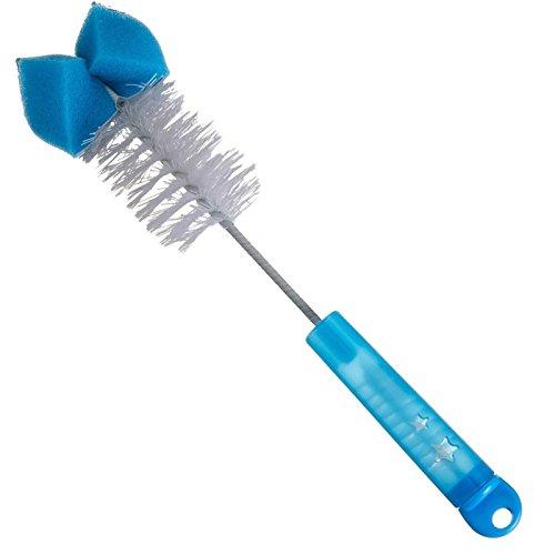 Reer 7596 - Cepillo para biberones y tetinas (2 en 1)