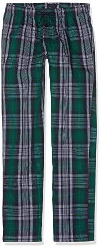 Schiesser Jungen Mix & Relax Webpants Schlafanzughose, Blau (Nachtblau 804), 140 (Herstellergröße: XS)