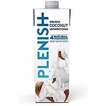 Plenish 1 l de leche de coco sin lácteos y sin endulzantes (empaque de 8