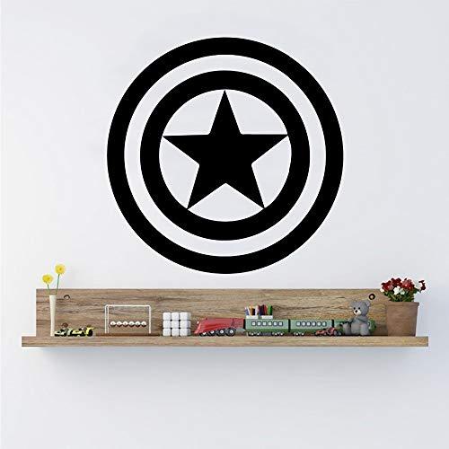 Wandaufkleber Marvel Comics Haus Selbstklebende Dekoration Kinder Schlafzimmer Removable Home Art Decor 3 43 * 43 cm ()