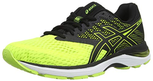ASICS Gel-Pulse 10, Scarpe da Running Uomo, Giallo (Flash Yellow/Black 750), 40 1/2 EU