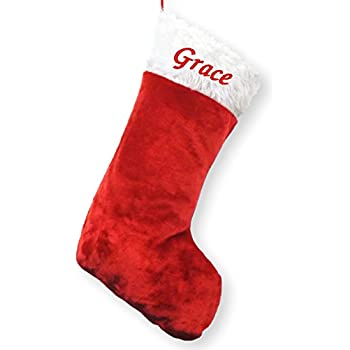 Personalised Xmas SANTA Sack Luxury Embroidered Deluxe Christmas ADD YOUR NAME