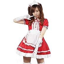 ourlove la moda mujer Anime francés delantal mucama adultos Fancy vestido lolita cosplay disfraz