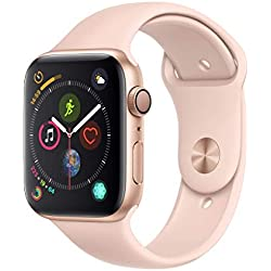 Apple Watch Series 4 (GPS) 44 mm Aluminiumgehäuse, gold, mit Sportarmband, sandrosa Apple Watch