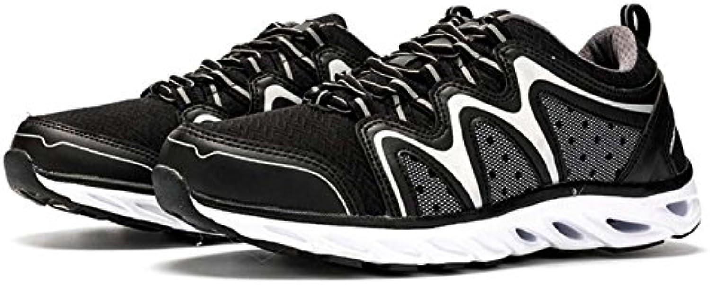 Zapatos de los Hombres Nuevo Antideslizante Desgaste Informal Luz Corriente Mesh Transpirable Senderismo Deportes  -