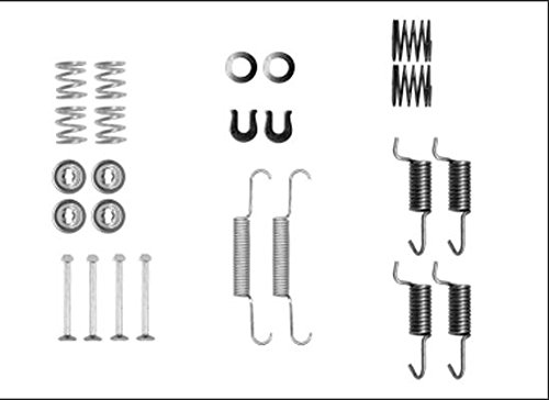 HELLA PAGID 8DZ 355 205-941 Zubehörsatz, Feststellbremsbacken, Hinterachse