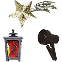 Alfred Kolbe Krippen AM 14 Nativity Scene Accessory Set Lantern, Comet and Light All Illuminated 4.5 V - Compare prices and find best deal online