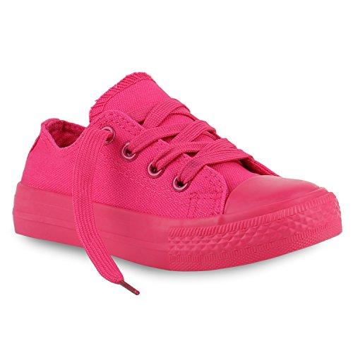 Kinder Sneakers Viele Farben Sportschuhe Turnschuhe Schnürschuhe Pink