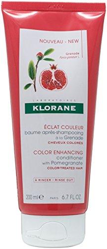 Klorane Pomegranate Color Enhancing Conditioner 200ml - Color Enhancing Shampoo