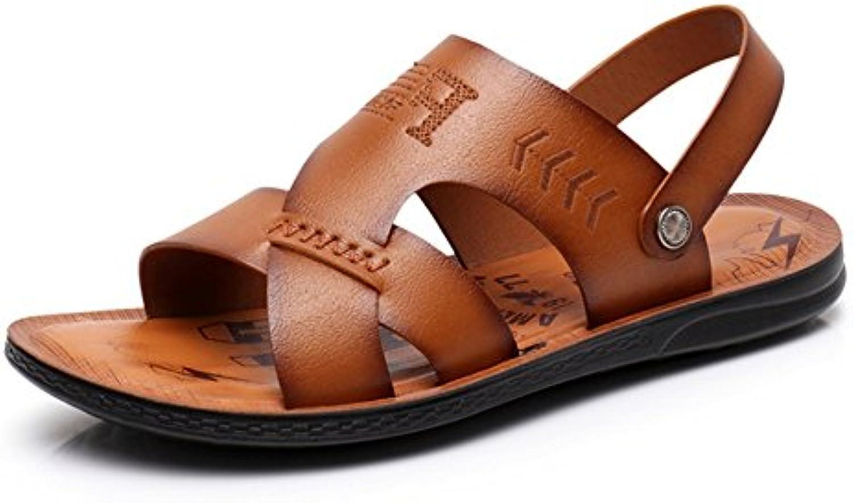 Sandalia para Hombres Deportes Al Aire Libre Zapatos De Playa Cómodos Dobles