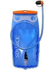 Agua Y Bebidas Bolsa Sistema de hidratación para mochila de hidratación con práctico Manguera con caño Protección de trinkv entril en la boca pieza Modelo Especial de Source en diferentes tamaños de reserva 1,52y 3litros para ciclismo senderismo Correr Trekking Outdoor, tamaño 3 L