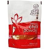 Pure & Sure Organic Powder Hot, Chili, 100g