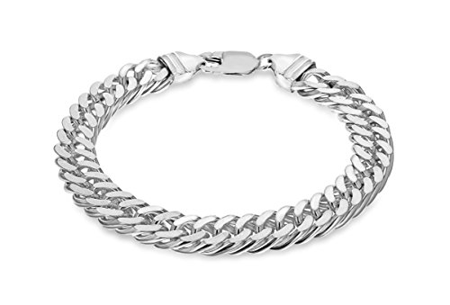 Tuscany Silver Sterling Silver Curb Bracelet of 20cm/8 I2nSInURD