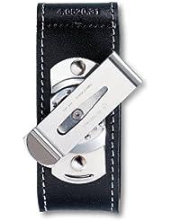 Victorinox - Estuche de cinturón con gancho metálico, color negro