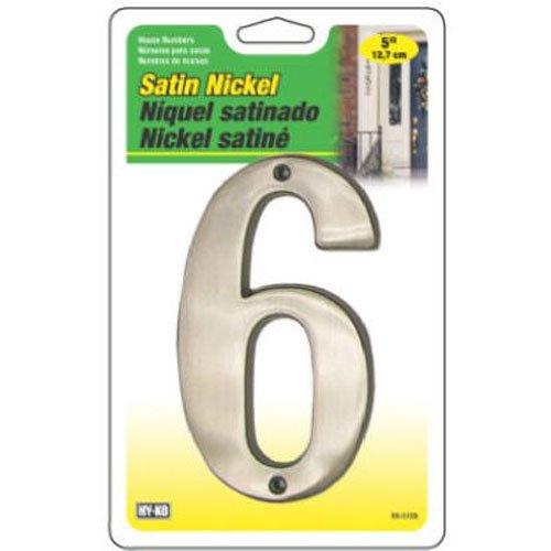 hy-ko Prod Satin Nickel Prestige # 6, 12,7cm (br-51sn/6) (Ko Satin)
