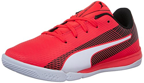 Big Star Schuhe (Puma evoSPEED Star S Junior Skate Shoe (Big Kid), Red Blast/White/Black, 6 M US Big Kid)