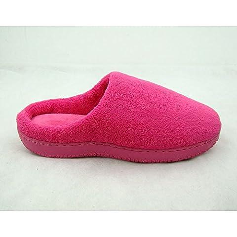 Cotone di memoria lento rimbalzo casa autunno e inverno cotone pantofole coppia maschio amanti sezione (1.5 Pvc Slittamento)