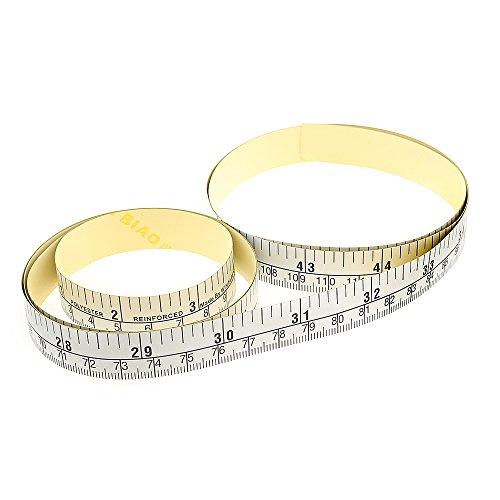 wintape banco regla medir de cinta adhesiva, izquierda a riqht–60pulgadas/150cm