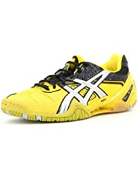 Asics - Zapatillas de voleibol para hombre amarillo amarillo/negro